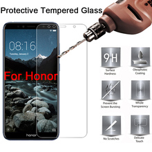 """Protective Glass on Honor 7A 7C Pro Tempered Glass for Honor 7A DUA L22 5.45"""" Screen Protector for Honor 7C AUM L41 5.7 inch"""