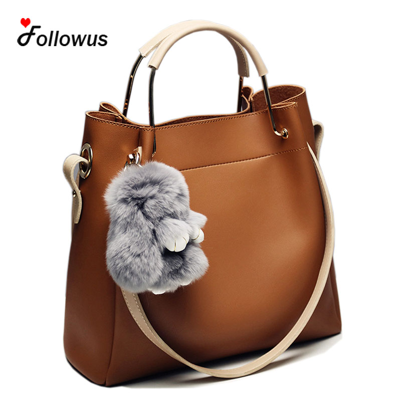 4 Colors Women Bags 2017 PU Leather Tote Handbags New Fashion OL Casual Messenger Pendant Shoulder Bag Bolsa Feminina dimplex truscott