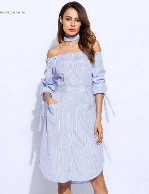 Off the Shoulder Long Sleeve Dresses