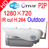 Onvif HD Wifi IP Camera Wireless P2P Plug Play IR Cut Night Vision Waterproof Outdoor Indoor
