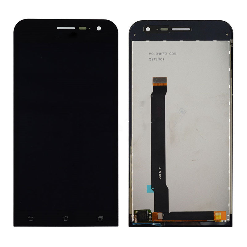 2016 good quality For ASUS Zenfone 2 ZE500CL LCD Display with font b Touch b font