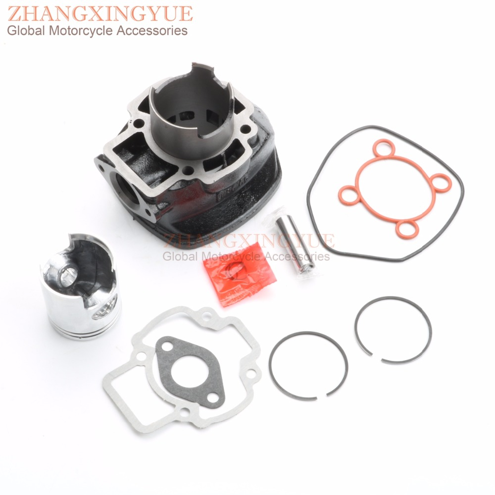 70cc Big Bore Cylinder Barrel Kit for APRILIA Sr Factory 50 04-09 Sr Street 50 03-08 47MM/12MM 38mm cylinder barrel piston kit