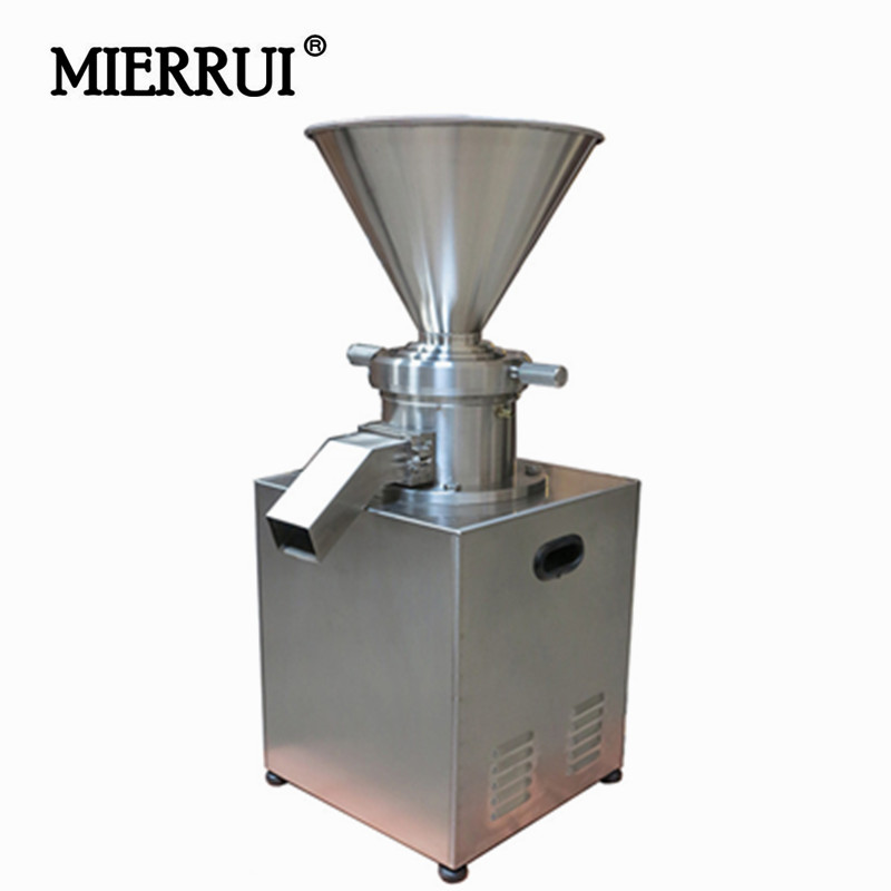 180KGS/H Commercial Peanut Butter Maker Stainless Steel Peanut Butter grinding Machine Sesame Butter Grinder homogenizer crusher peanut butter maker machine grinding machine with motor peanut butter machine