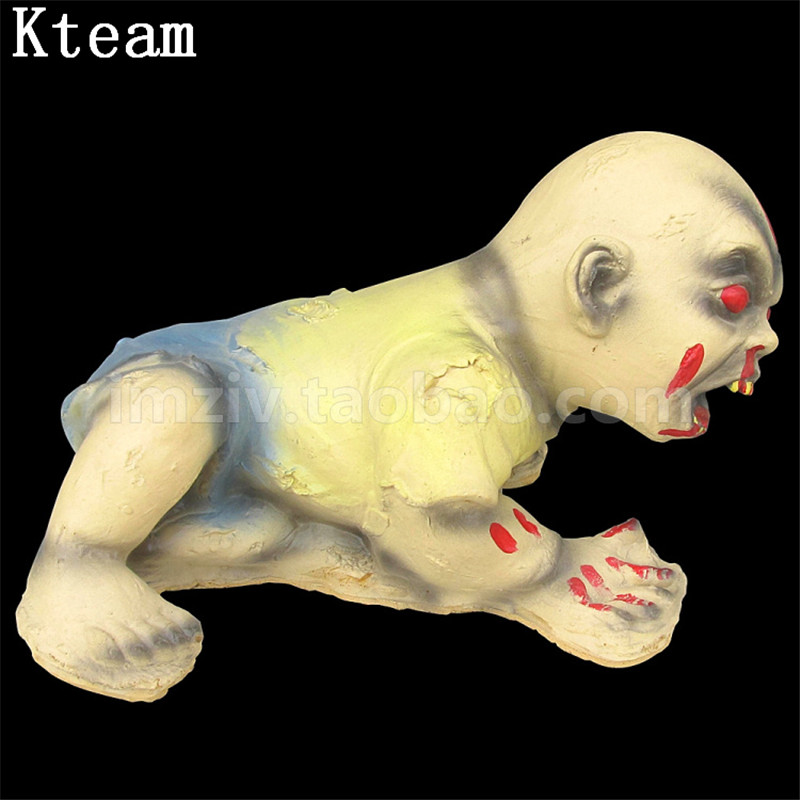 Зомби эмульсия для лица младенца Хэллоуин призрак Висячие реквизиты Хэллоуин реквизит Хэллоуин украшения страшный кулон хитрый бар реквиз... - 2