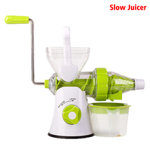 ice cream machine  slow juicer Fruit Vegetable Tools Plastic Multifuctional Fruit Squeezer hand juicer machine