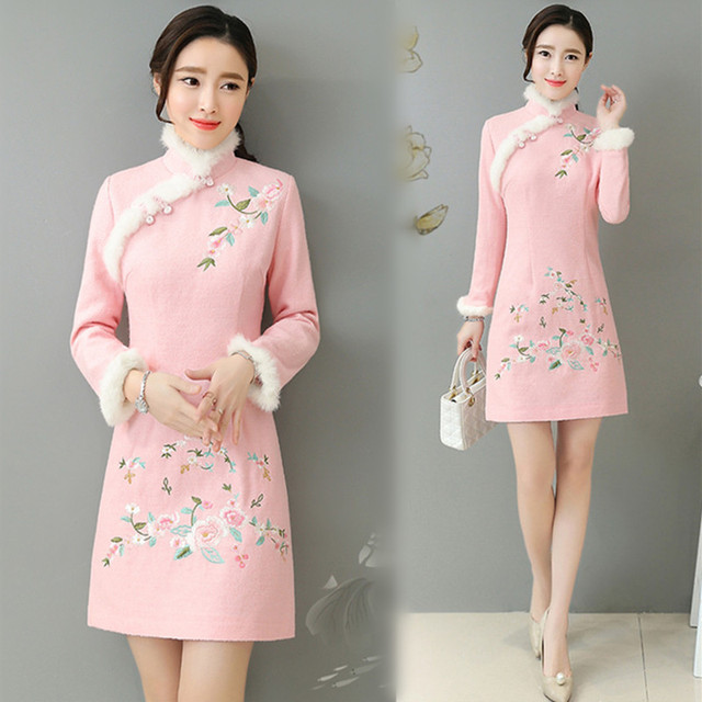 Женское платье китайские фото