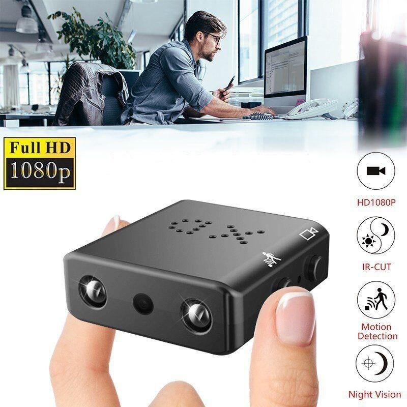 HYUCHON Full HD 1080P Mini Câmera XD IR-CUT Infrared Night Vision Detecção de Movimento Filmadora Mini DV DVR Gravador de Vídeo