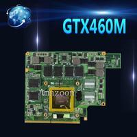 Amazoon G53JW N11 GS A1 GTX460M 1GB Graphics Card GPU For ASUS G53JW G73SW G53SW G53SX VX7 VX7S GTX 460 Laptop Motherboard Card
