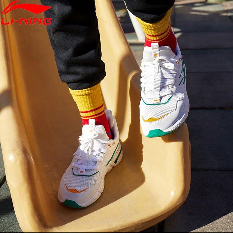 (Break Code)Li-Ning Women 001 CLASSIC Lifestyle Shoes Mono Yarn Breathable LiNing Li Ning Sport Shoes Sneakers AGCP024 YXB269