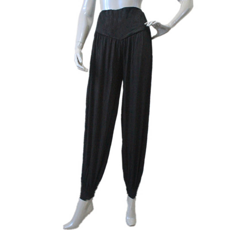 Black,Red Highwaisted Bloomers Dance Pants for Dance for Ladies and Girls 6