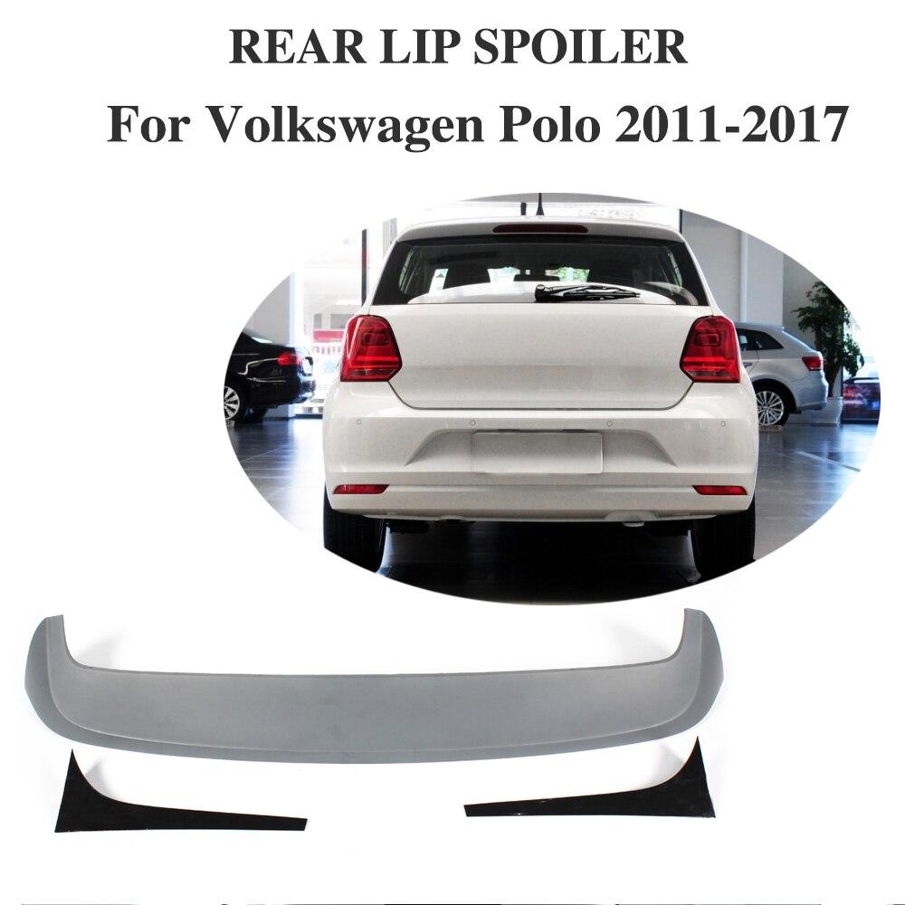 ABS Rear Roof Spoiler Wing for VW Volkswagen POLO GTI / R 2011 2017 Rear Trunk Lip Wing
