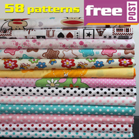 Quilting Fabric Printed Cotton Fabric Denim Twill Fabric Baby Clothes Bedsheet 62 Wide By The Yard