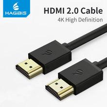 Hagibis kabel HDMI kabel HDMI do HDMI 4 K HD HDMI 2 0 3D lustro kabel ekranu dla Splitter przełącznik telewizor z dostępem do kanałów na laptopa PS3 żarówka jak komputera tanie tanio Mężczyzna Mężczyzna Przewód HDMI 2 0 Kable HDMI Złącze HDMI 2 0 a Komputer Multimedia Monitor Projektor Telewizja TV BOX
