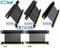 Riser Gen3 0 PCI E 3 0 16x Male To Pcie X16 Female Right Left Elbow