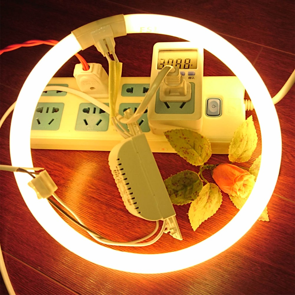 CFL Rare Earth Phosphor Compact Fluorescent Circular Lamp 2pcs,Circline Energy-saving Replace Light Tube T5 16mm 2700K 6500K