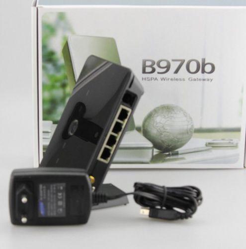 Original Unlock HSDPA 7.2Mbps HUAWEI Business 3G Wirelwss Router B970B Built-in WLAN/LAN Port