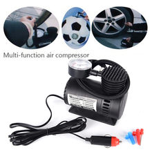Draagbare Auto/Auto DC 12V Electric Air Compressor/Tire Inflator 300PSI Automobile Emergency Luchtpomp(China)