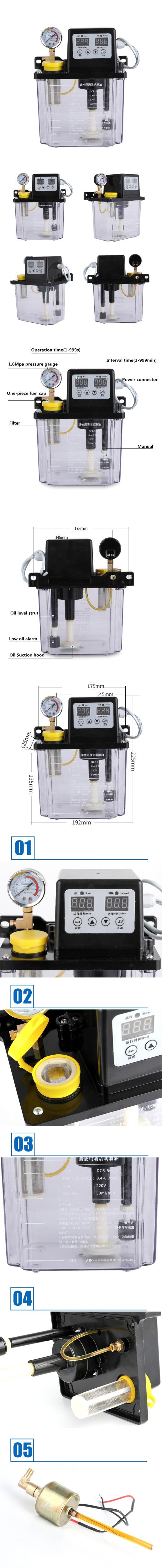 220 v bomba de óleo eletromagnética bomba