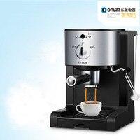 Итальянский кофе машины DL KF500 полуавтоматическая дома коммерческих паровой тройной ручка кофе порошок капсулы 20 PA высокого давления
