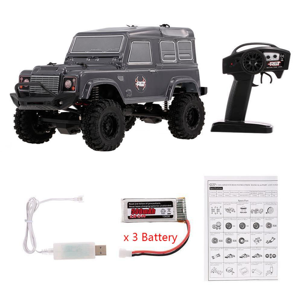 1/24 2.4G 4WD 15KM/H RC Rock Crawler Monster Buggy HSP Car Kids Toy Remote Climbing Climbing Car Puzzle Early Education Toy hsp 02024 differential diff gear complete 38t for 1 10 rc model car spare parts fit buggy monster