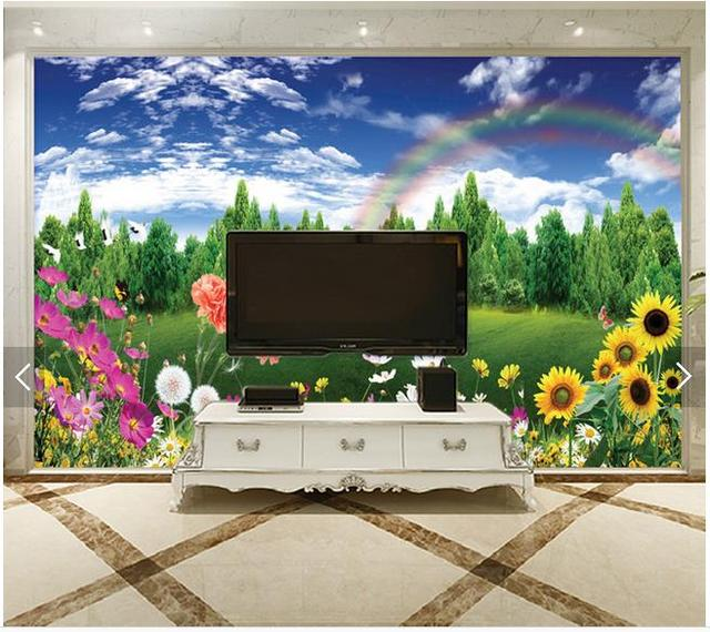 Custom 3d tv wallpapers and backgrounds murals hp Spring fashion     Custom 3d tv wallpapers and backgrounds murals hp Spring fashion decoration  setting wall scenery 3d wallpaper