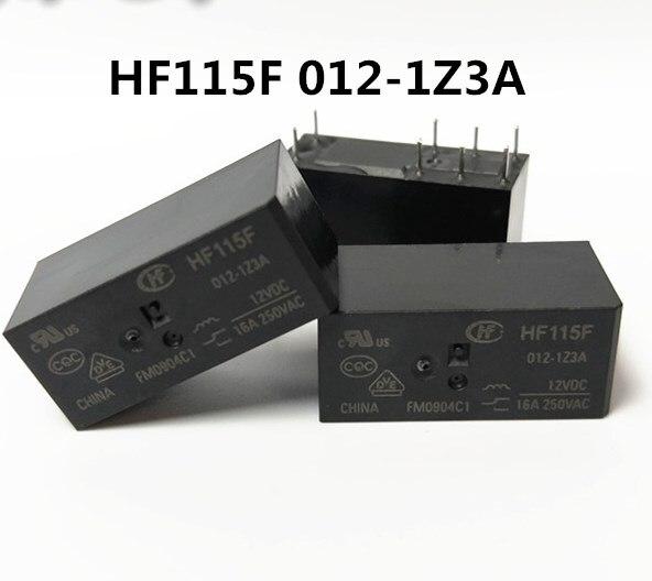 HOT NEW relay HF115F 012-1Z3A HF115F-012-1Z3A JQX-115F 012-1Z3A JQX-115F-012-1Z3A 12VDC DC12V 12V 16A 250VAC 8PIN 10pcs lot jqx 115f 005 2zs4 551  5vdc