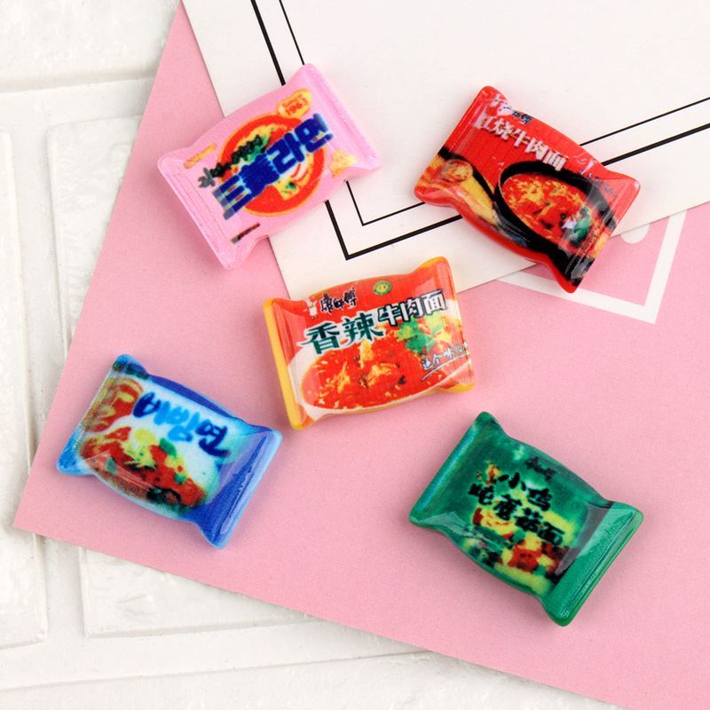 10pcs 1:6 1:12 Scale Doll Food Miniature Dollhouse Mini Instant Noodles Pretend Food For Blyth Azone Dollhouse For Barbie Doll