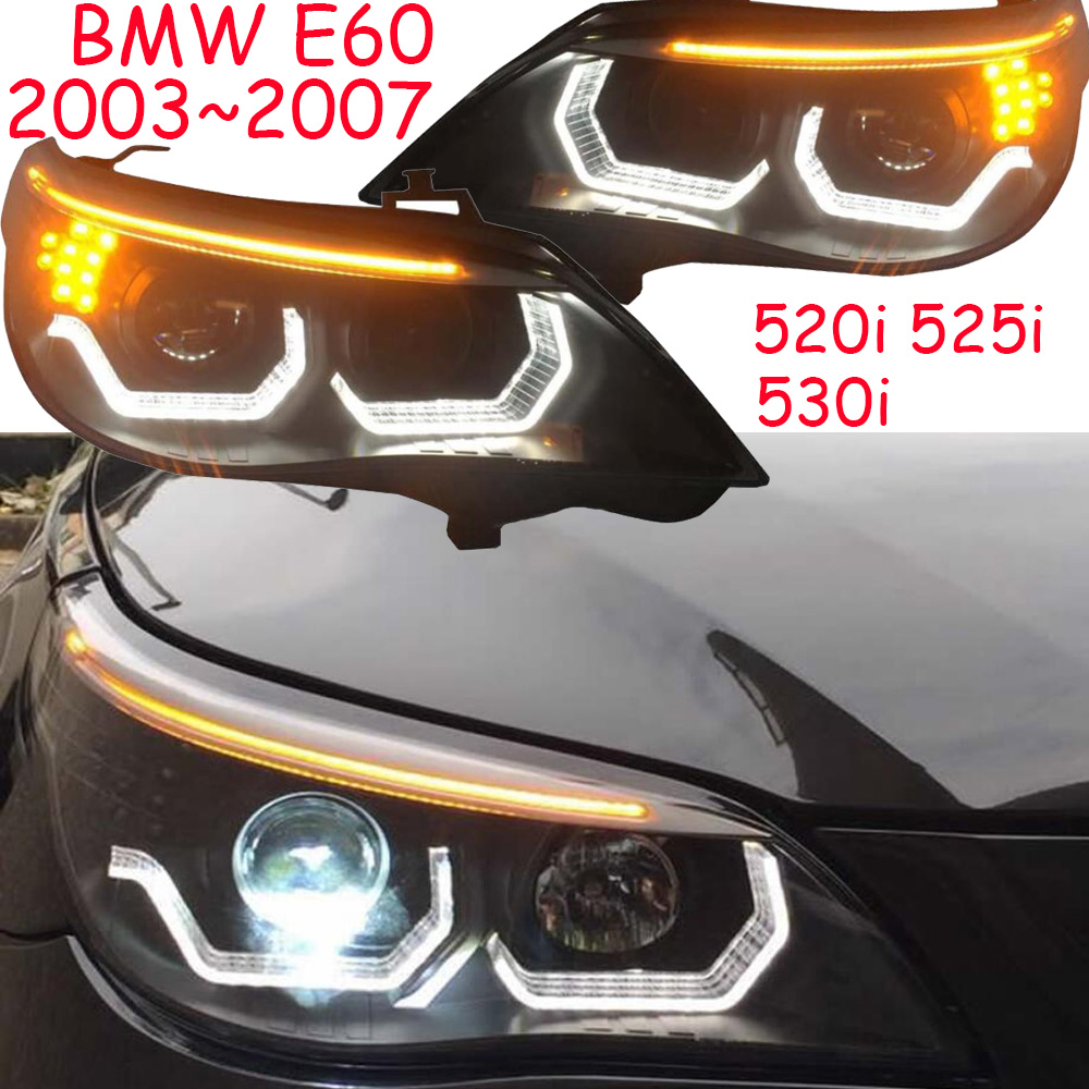 Video,E60 Headlight,520i 525i 530i,2003~2007,Car Styling,520i Headlight,car accessories,525i fog light,X3 X6 Mini,530i head lamp