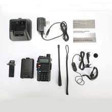 цена на BaoFeng walkie talkie UV-5R two way cb radio upgrade version baofeng uv5r 128CH 5W VHF UHF 136-174Mhz & 400-520Mhz