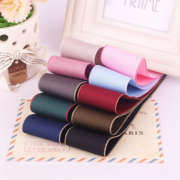 PPCrafts 38mm Korean Style Bilateral Cotton Ribbon DIY Wedding Party Decoration Webbing Crafts Gift