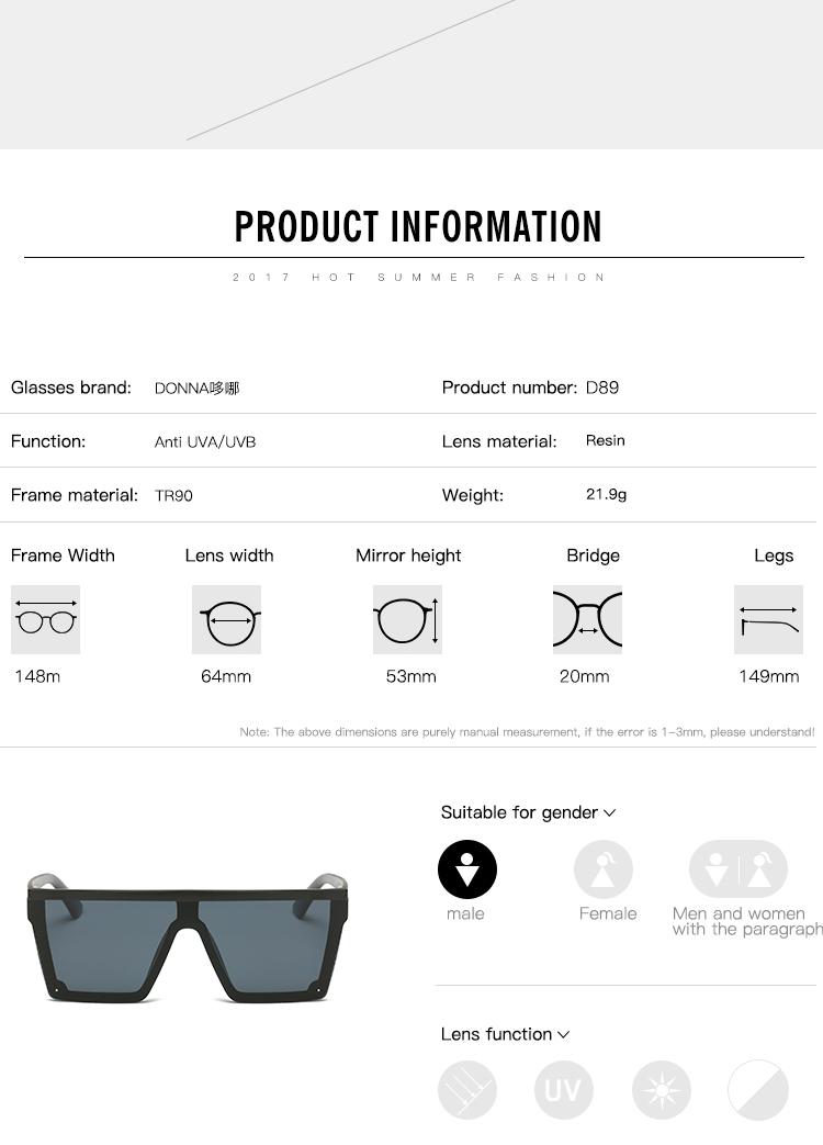 HTB1JCtUSVXXXXcIXpXXq6xXFXXXv - DONNA Fashion 2017 Retro Square Sunglasses Brand Designer Men Sunglasses Driving Outdoor Sport Sun Glasses Eyewear Male D89