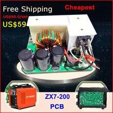 Preço barato frete grátis soldagem placa de circuito da máquina inversor soldador MMA ARCO ZX7 200 {hot vendas}