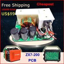Cheap price  free shipping welding circuit board of ZX7 MMA ARC 200 inverter welder machine  {hot sales}