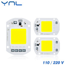 COB LED Chip 50W 110V 220V 30W 20W 10W Smart IC Fit For DIY Outdoor LED Flood Light No need Driver(China)