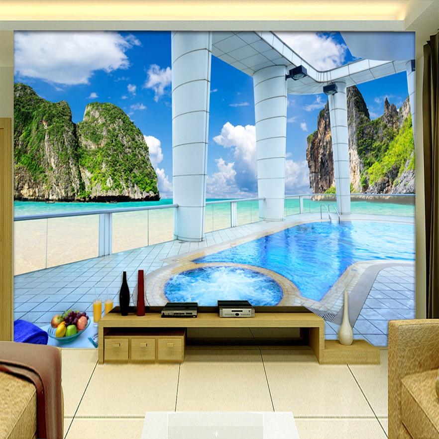 individuelle fototapeten 3d wandbild tapeten f r. Black Bedroom Furniture Sets. Home Design Ideas
