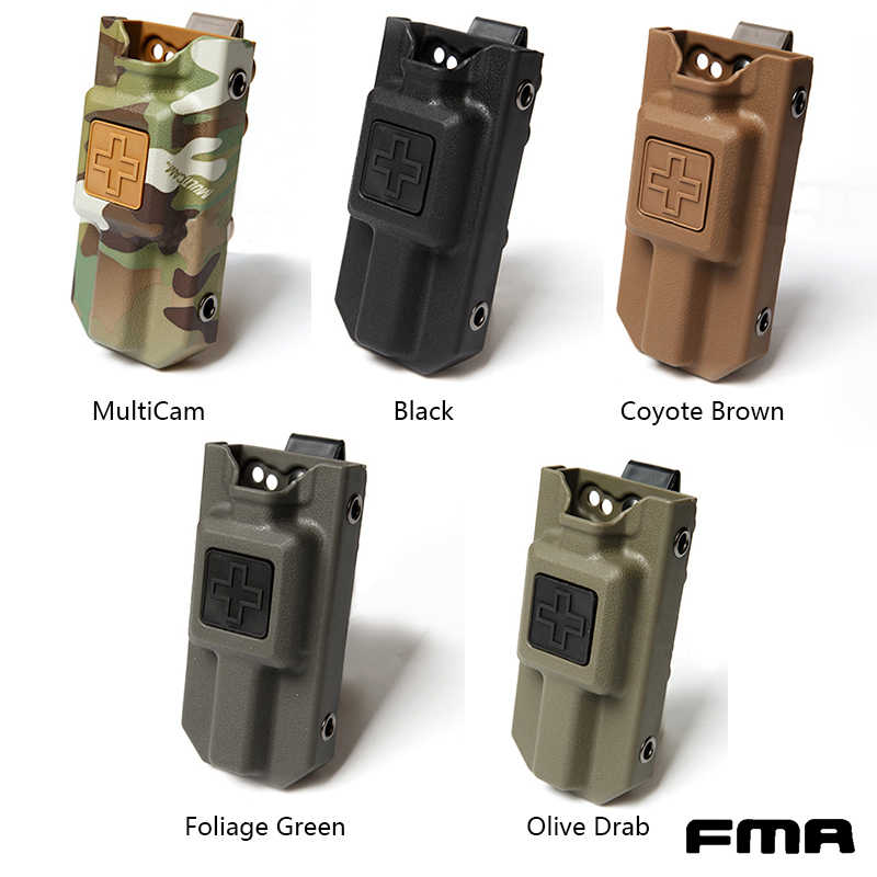 FMA Toepassing Tourniquet Carrier Pouch Molle Medische Opslag EMT Holsters Airsoft Gear Tactische Tourniquet Opslag Pouch