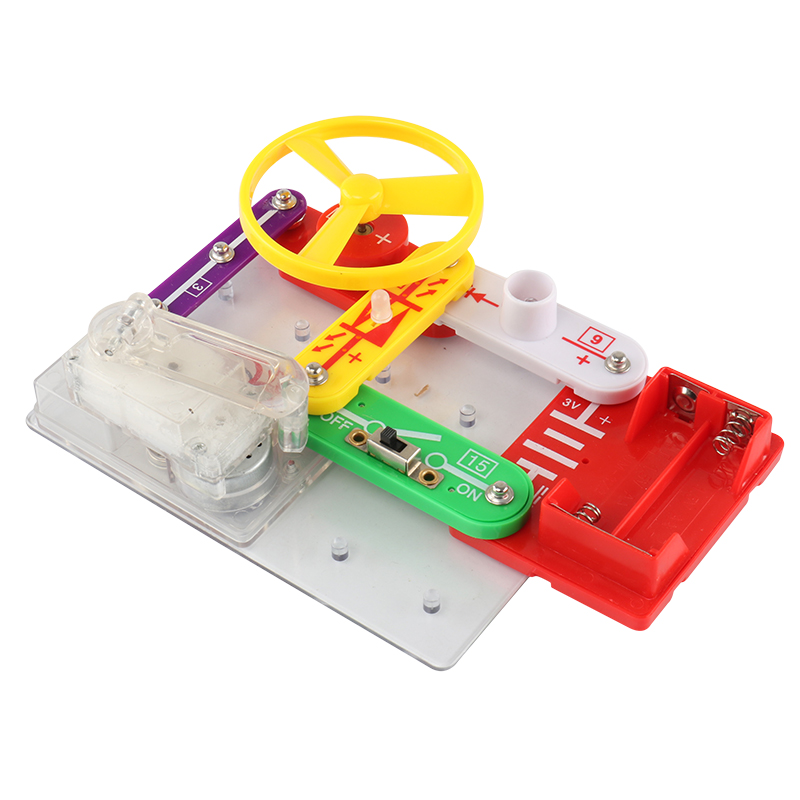 Children DIY Assembly Electronic Blocks & Toys,Hand-held Generator Kit(W-2289)Children DIY Assembly Electronic Blocks & Toys,Hand-held Generator Kit(W-2289)