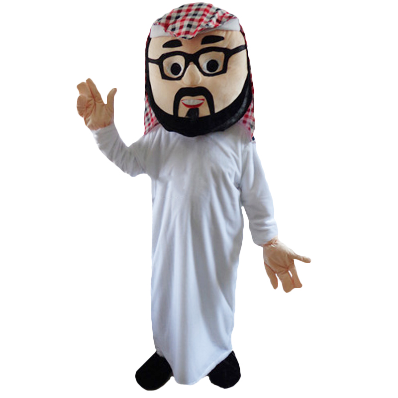 95c649fc8 [Hot Sale] Arab Boy Mascot Costume for Adult Arabian Girl Mascot Costume  Carnival Party Costumes Halloween Costume Performance Clothing-in Mascot  from ...