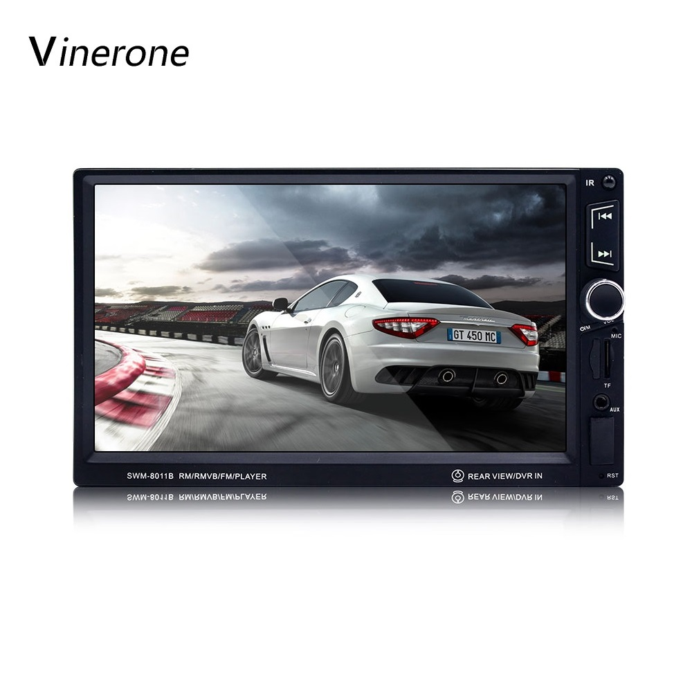 Vinerone 7 inch Car Audio Touch Screen Car Radio 2 din MP5 Player Bluetooth Rear View Camera USB AUX Auto Radio Autoradio 2din