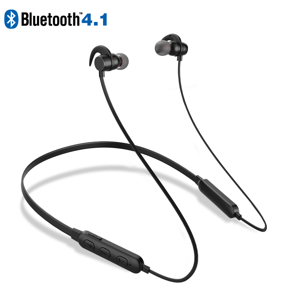 X-DRAGON Bluetooth Earphone Ear Hook V4.1 Version Wireless Sweatproof Sports Earphone with microphone