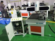 industrial use four 4axis 6090 2200W cnc router , cnc engraving machine / pcb milling machine / wood carving router engraver