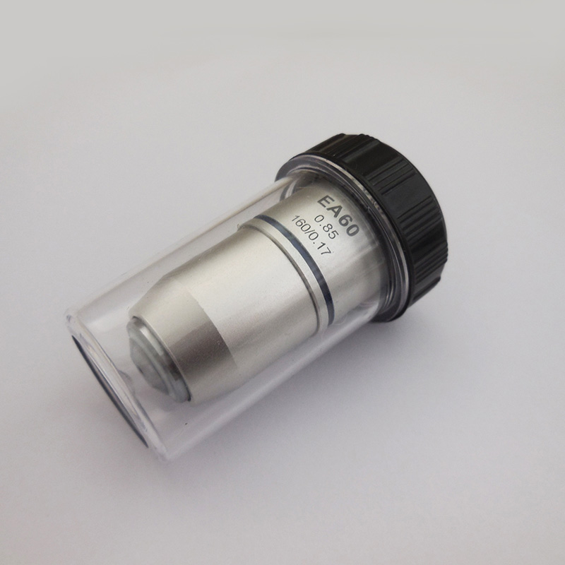 60X Achromatic Objective Lens Standard Biological Microscope Objective Lens Used Education Hospital Biomicroscopy Accessories biological microscope 195n achromatic objective 4x 10x 40x 60x 100x objective lens mounting aperture 20 2mm