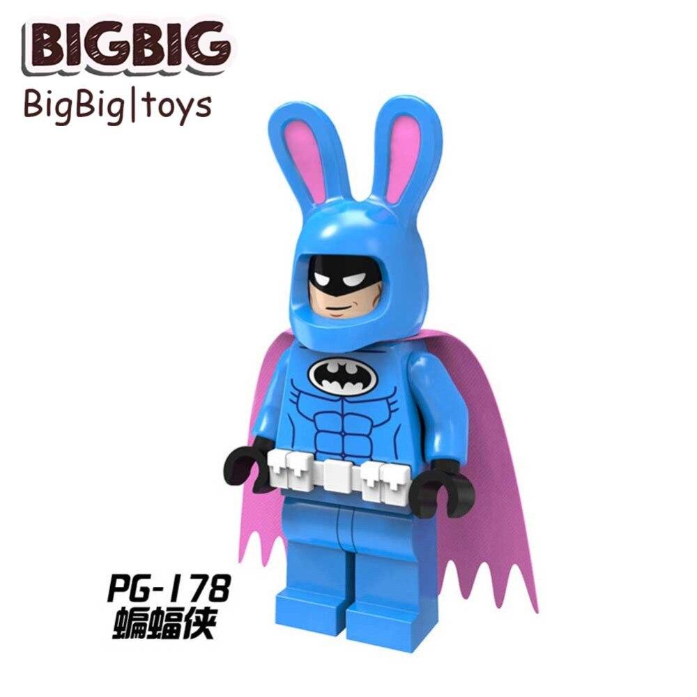 Blocks Single Animal Panda Man Collectible Mr Banana Rabbit Penguin Shark Building Blocks Bricks Toy For Children Brinquedos Quality First