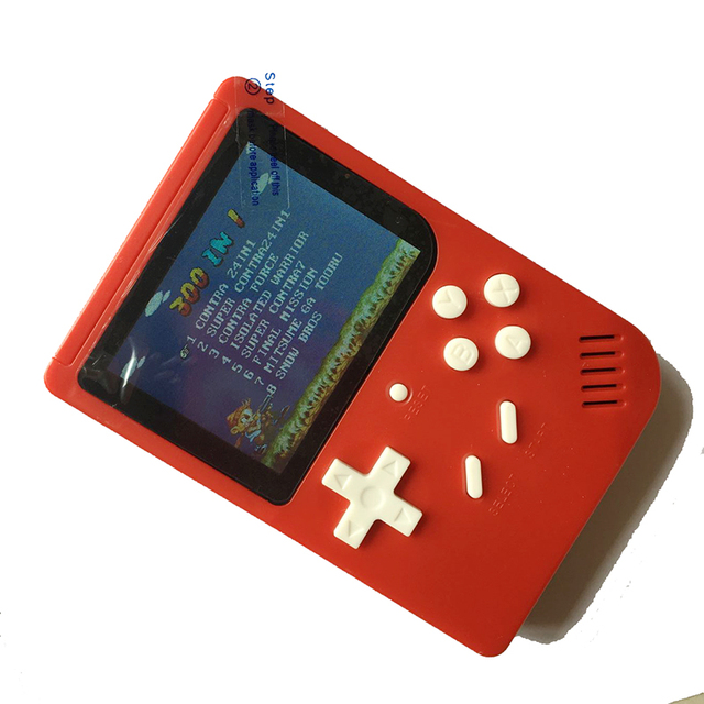 300 in 1 PLUS Portable Video Handheld Game Console Retro Classic Mini Game Machine Built-in 300 Classic Unduplicated Game