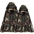 Tactical Camouflage Jacket Men Women Plus Size Camo Hooded Windbreaker Jackets Military Canvas Jacket Parka Fashion Streetwear