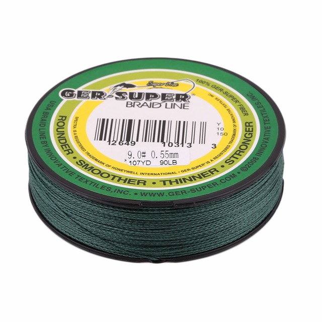 100M Super Strong Braided Fishing Lines 8/10/12/15/18/20/25/30/35/40/45/50/60/70/80/90LB Fishing Line Fishing Accessories