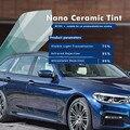 VLT 75% Hellblau Gebäudefensterfolien Auto Tönungsfolie Nano Ceramic Window Film Größe: 1 52*20 Mt/rolle-in Dekor-Folien aus Heim und Garten bei