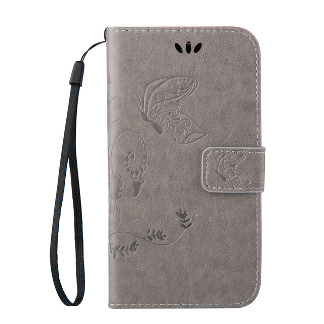 PU Leather Flip Case for Samsung Galaxy Trend Lite S7392 S7390 GT-S7392 GT-S7390 Phone Cases with Wallet & Card holder Cover