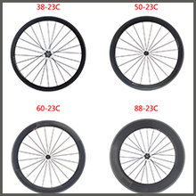 Sobato Bikes Wheel Carbon Road wheels Bicycle Chinese OEM Wheelset 38mm Clincher Or Tubular Powerway R13 Hub