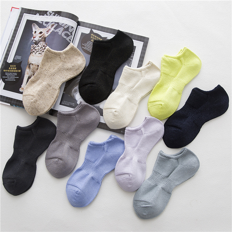 women socks 1 pair short ankle cotton solid color silver silk high quality women fashion compression socks